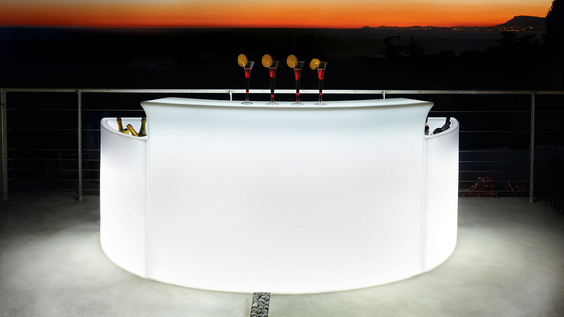 Mobile Bar Per Esterno break bar - slide design